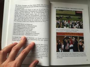 Das Buch ist zwar nicht sehr professionell gestaltet, enthält aber viele schöne Erinnerungsfotos von Overdose – auch mit Sandor «Alex» Ribarszki.