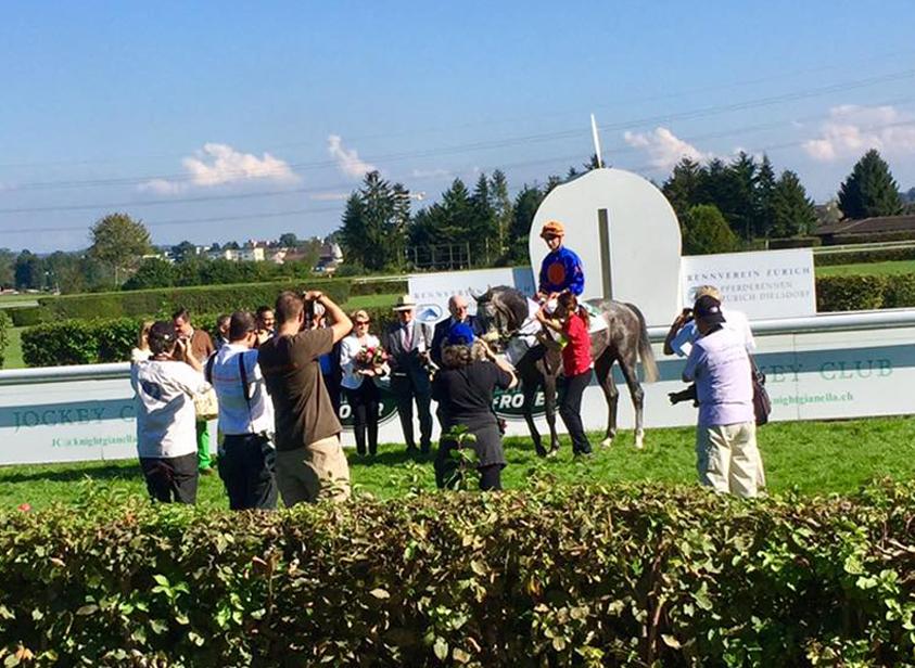 Gleich zwei Höhepunkte gingen am 25. September in Dielsdorf über die Bühne. Das 35. Schweizer St. Leger über lange 3000 m wurde zur Ausbeute von Fanfaron mit Antony Crastus im Sattel. Ein weiterer bedeutender Sieg also für das Besitzerehepaar Kräuliger und Trainer Andreas Schärer.