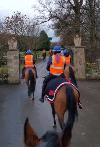 Ein Lot von Trainer Karl Burke beim Eingang zu dessen Anwesen «Spigot Lodge». – Fotos: Kelly Voy