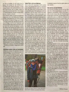 «Gibt es für Galopper ein Leben nach der Rennbahn?», 2. Teil – Zum Lesen Bild anklicken.